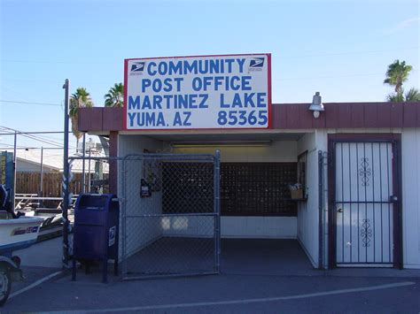 Lake Post Office by Martinez Lake Arizona Community Post Office Post Office