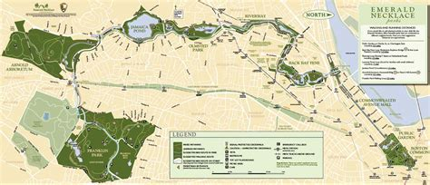 boston s emerald necklace sets the standard for linked