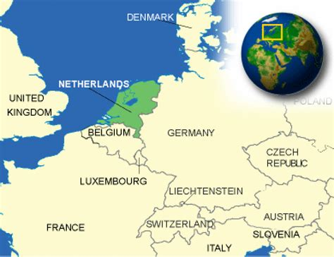 netherlands map facts netherlands country map