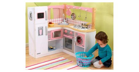 kidkraft grand gourmet deluxe corner kitchen pretend
