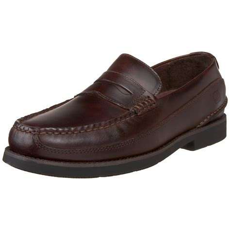 top sider loafers sperry top sider mens seaport loafer in brown for