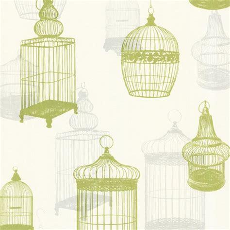 new luxury silk texture zinc bird parrot cage wallpaper 10m roll decor art