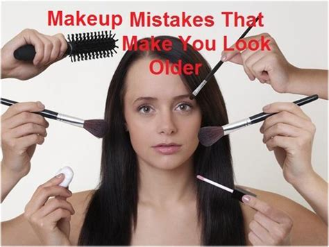 8 Classic Make Up Mistakes To Avoid by 8 Makeup Mistakes That Add To Your Age