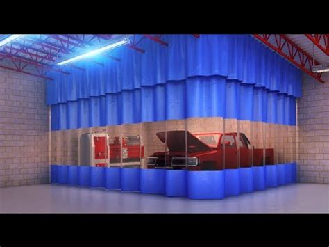goff industrial curtains goff s industrial curtain walls