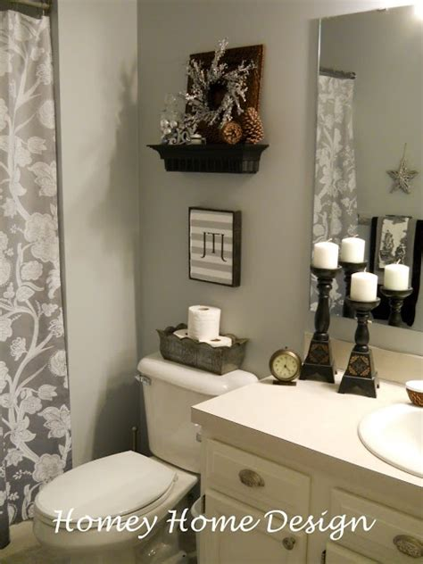 bathroom decor idea pin by trina mosher on downstairs bathroom pinterest