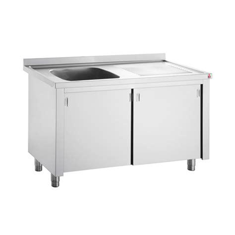 Kitchen Single Sink Cupboard Stainless Steel Commercial Sink Base | inomak stainless steel sink on cupboard lk5111l single