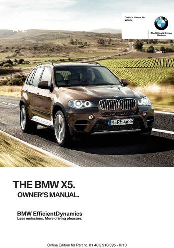 download car manuals pdf free 2008 bmw x5 spare parts catalogs download 2013 bmw x5 xdrive50i owner s manual pdf 345 pages
