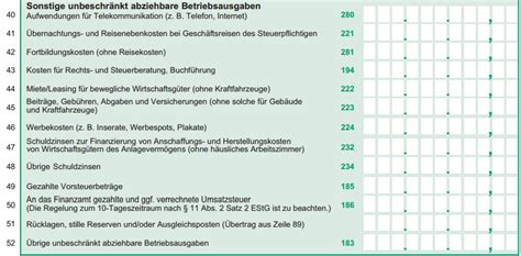 Muster Rechnung Tagesmutter E 220 R Sonstige Unbeschr 228 Nkt Abziehbare Betriebsausgaben 187 Tunger