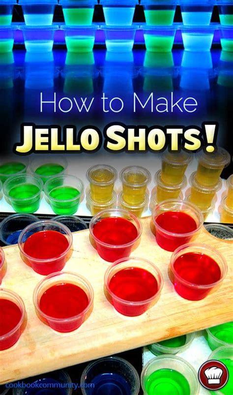how to make jello shots cookbook community