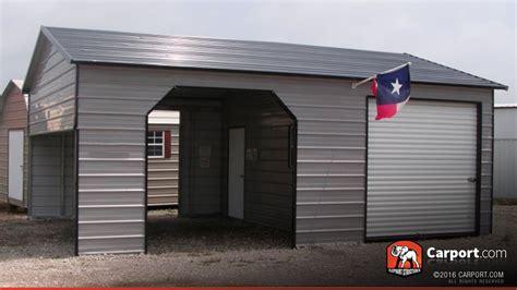 metal garage with storage area 22 x 31 shop metal buildings online