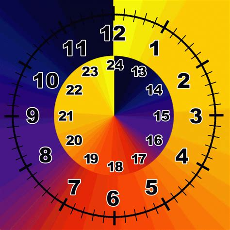 printable clock manipulative 24 hour clock free printable template download