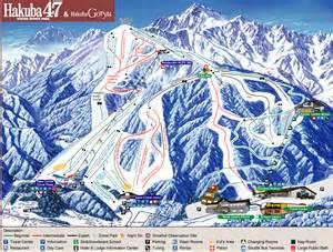 hakuba ski resort map