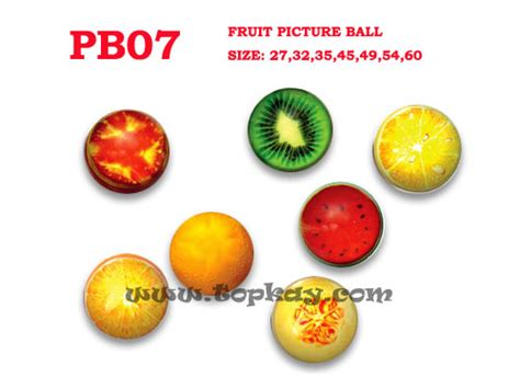 Bouncing Fruit by Hi Bouncing Balls Bounce Vending Supplies