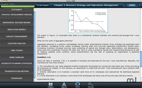 Mba Learning by Pocket Mba Learning Studio 1 0 Purchase For Mac Macupdate