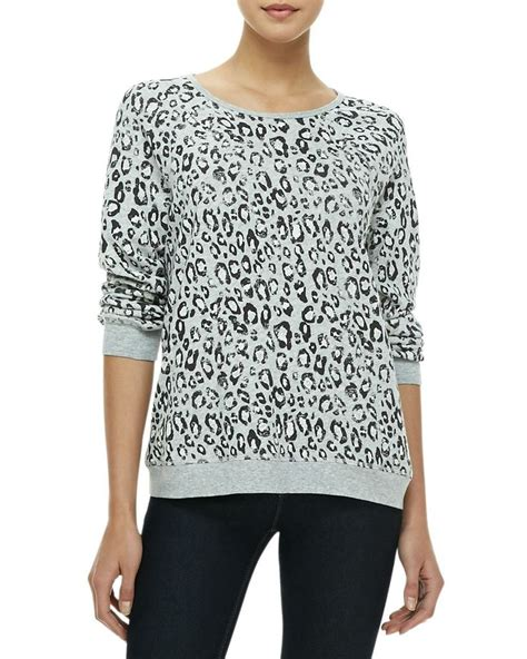 Vans Jacket Annora soft joie annora leopard print sweatshirt on the cusp for the animal lover ps