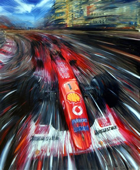 ferrari art ferrari f1 michael schumacher 2002 fine art print by