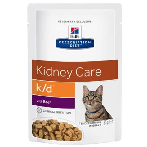 kidney care food hill s prescription diet feline k d renal pouches free p p 163 29