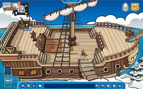 barco pirata hd trucos club penguin