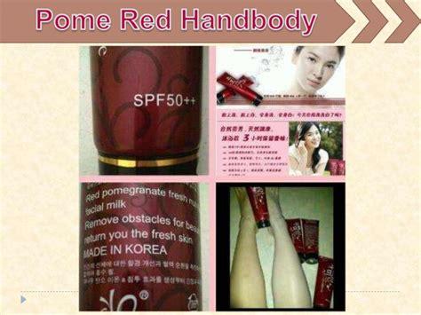 Redpome Spf50 pome handbody pemutih terbaik yang bagus ko