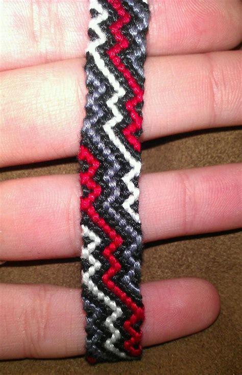 zig zag pattern friendship bracelet instructions pin by braceletbook com on friendship bracelets pinterest