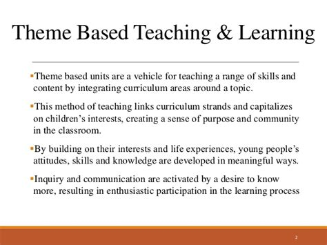 education theme based dance theme based teaching learning