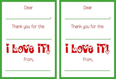 printable thank you holiday cards free printable christmas thank you cards