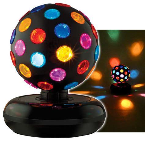 Multi Colored Rotating Disco Ball