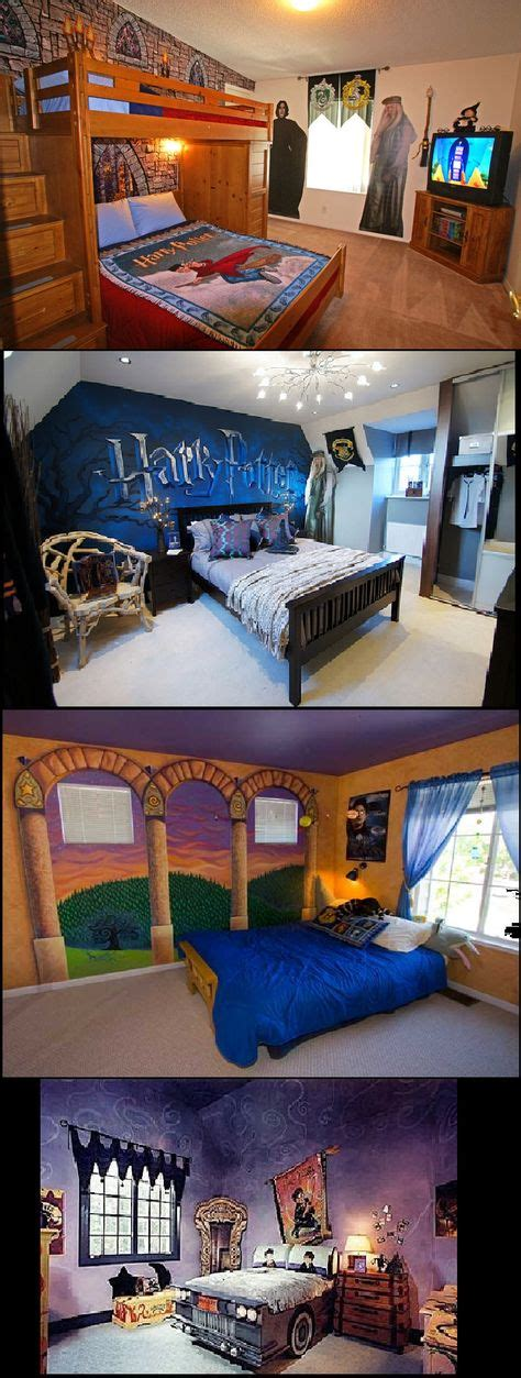 fandom themed bedroom enhancing style bed rooms maries manor harry potter