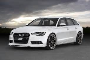 abt sportsline customizes new audi a6 avant