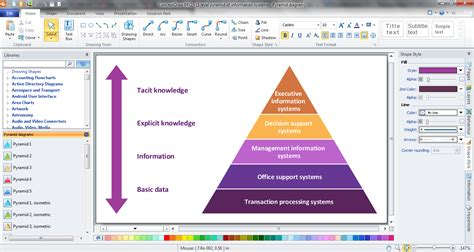 diagram maker software pyramid chart maker pyramid charts energy pyramid