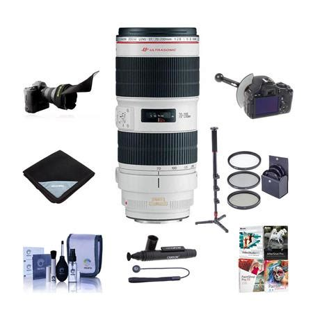 canon ef 70 200mm f/2.8l is ii usm lens, usa, with premiym