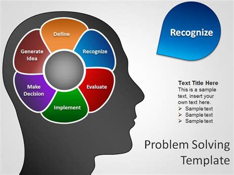 free brain powerpoint templates free brain powerpoint template for problem solving