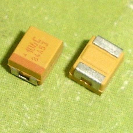 capacitor smd types tantalum capacitors smd 10uf 16v type b 3528 1210