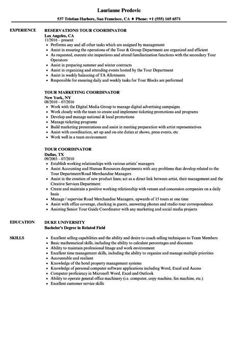 demand planner resume sle tour marketing description lifehacked1st