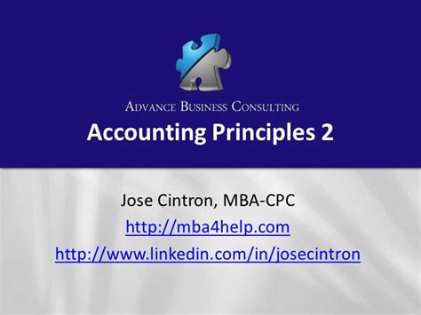 Start Consulting After Mba Nonresident Llc by Accounting Principles 2b Corporations