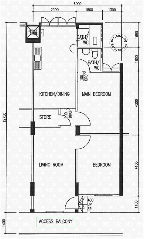 hdb floor plan floor plans for hougang avenue 5 hdb details srx property