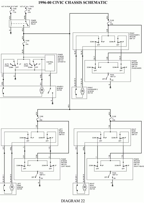 Power Window Motor Diagram Renault Megane Wiring Honda