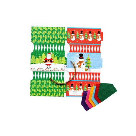 large christmas cracker kit 6 pack christmas kits