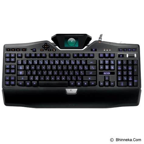 Keyboard Gaming Logitech Murah jual logitech gaming keyboard g19 920001802 murah bhinneka