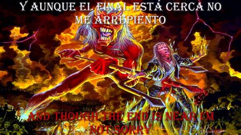 Maiden Name Search Free Iron Maiden Hallowed Be Thy Name Lyrics Y Subtitulos En Espa 241 Ol