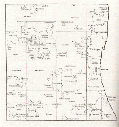 Records Lake County Il Lake County Illinois Maps And Gazetteers