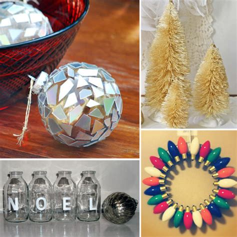 diy christmas home decor diy christmas decorations popsugar smart living