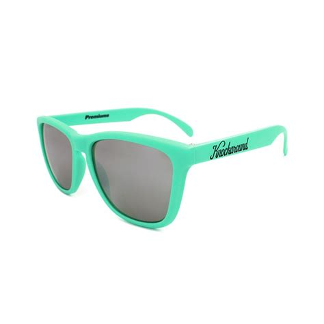Sunglases Knock Around E knockaround mint green smoke classics