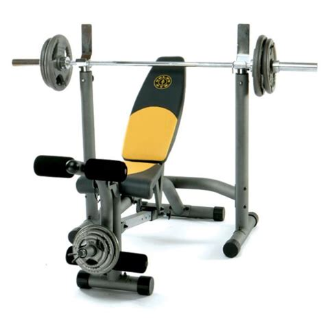 gold gym bench gold s gym maxi workout bench sports leisure zavvi com