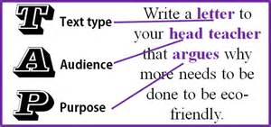 The Purpose For Which You Are Writing An Essay by Language Writing Questions Miss S Gcse Media