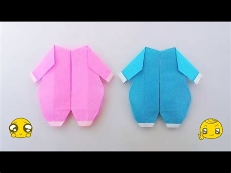 Origami Baby Clothes - 100 ideas to try about origami clothes accessories