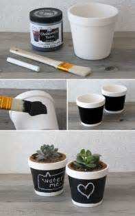 diy chalkboard flower pot pictures photos and images for