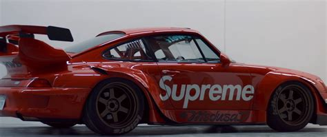 porsche rwb supreme this is the supreme livery rauh welt porsche that even rwb