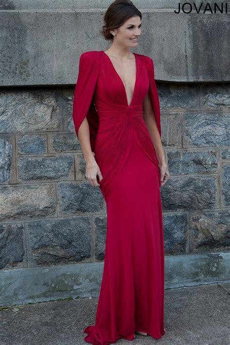 jovani  evening dress  neckline