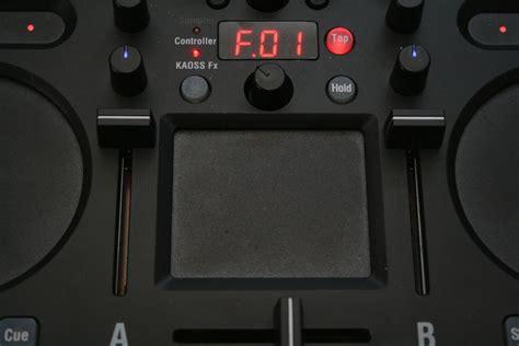 Touchpad Dj test korg kaoss dj dj controller mit kaoss effekten